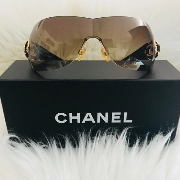 1ccd94affbad CHANEL Accessories - Authentic Chanel 4145 Shield Wrap Sunglasses 🕶